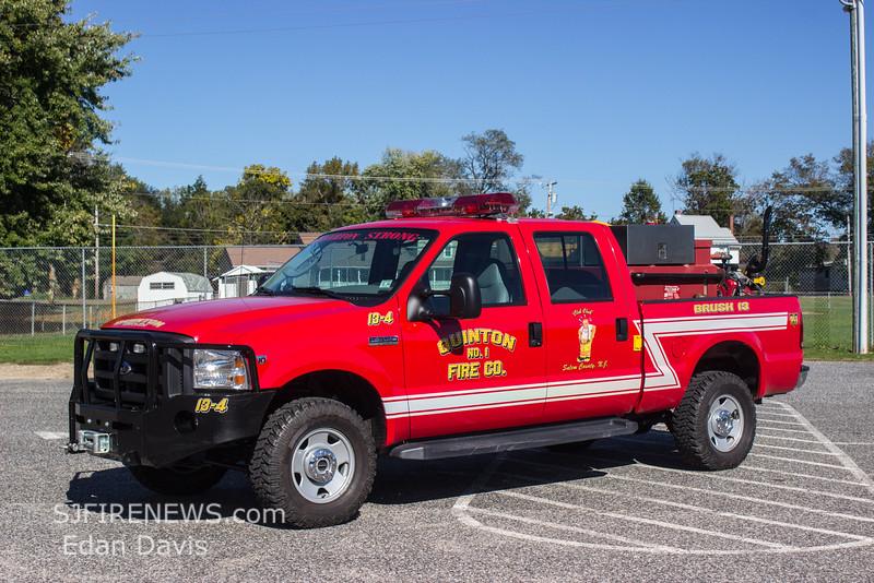 Quinton, Salem County NJ, Brush 13-4, 2006 Ford F350 4X4, 250-250, (C) Edan Davis, www sjfirenews com  (1)
