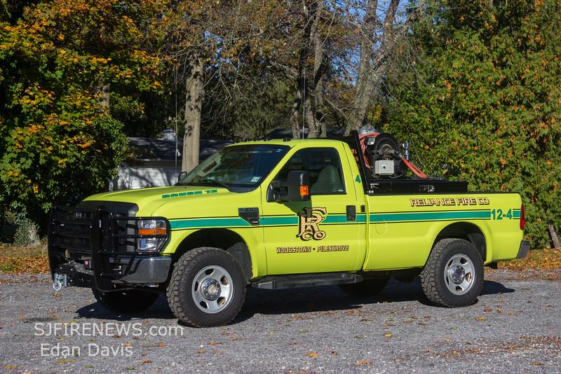 Reliance, Salem County NJ, Brush 12-4, 2012 Ford F350, 250-250, (C) Edan Davis, www sjfirenews com  (2)