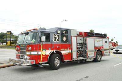 Osceola County Fire/Rescue E-63 Pierce pumper