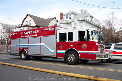 Paterson NJ Rescue 2, Spartan/RescueOne heavy rescue truck