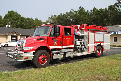 Hardeeville SC, 2011 Pierce/International pumper