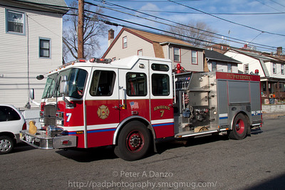Paterson NJ E-7, Emergency One pumper