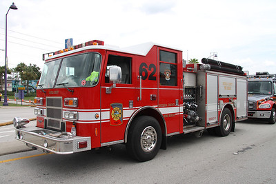 Osceola County Fire/Rescue E-62 Pierce pumper