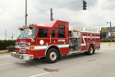 Lake County Fire/Rescue Squad 109, Pierce rescue/pumper