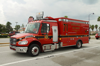 Osceola County Fire/Rescue Rescue 71.
