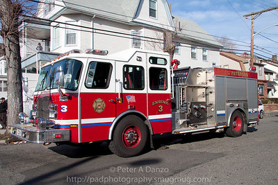 Paterson NJ E-3, Emergency One pumper