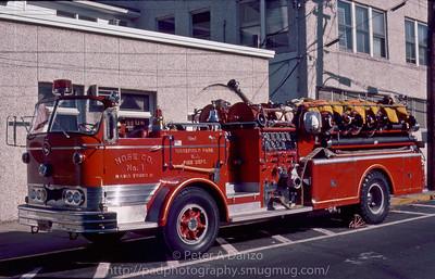 Ridgefield Park NJ Hose Co.1, 1962 Mack C-95 1000gpm/500gwt