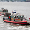 FDNY Marine 8 followed by Marine 6B,  07-14-12