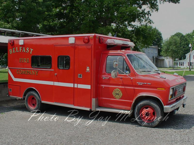 Belfast FD - Rescue 66