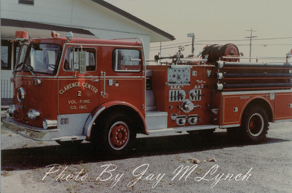 Clarence Center Fire Department