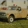 Leicester FD - Grass Truck 13 - 1970 Chevrolet - Photo Courtesy of Leicester Fire Department. Photographer Unknown.