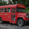 Lima FD - Squad Car 241 - GMC Bus