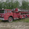 Lima FD - Truck 23 - 1959 Ford Seagrave 75' Mid Mount Aerial