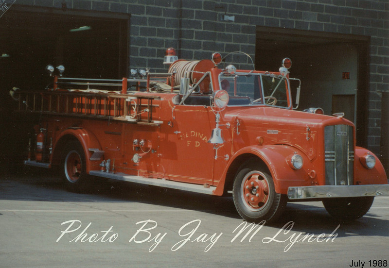 Medina FD - Engine - Retired