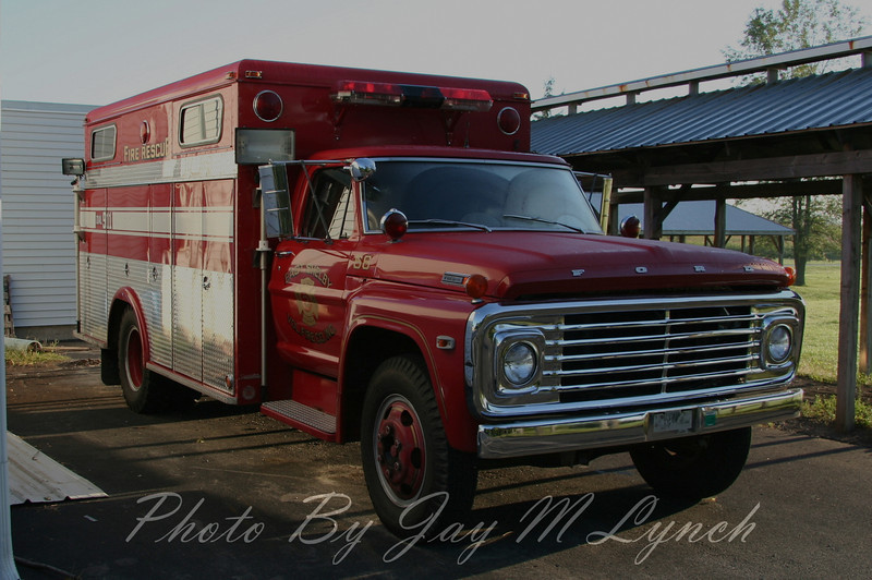 East Shelby FD - Rescue 66 - Retired