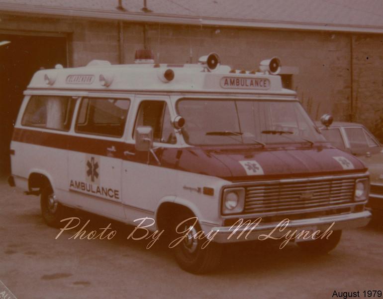 Claredon FD - Ambulance 3612 - Retired