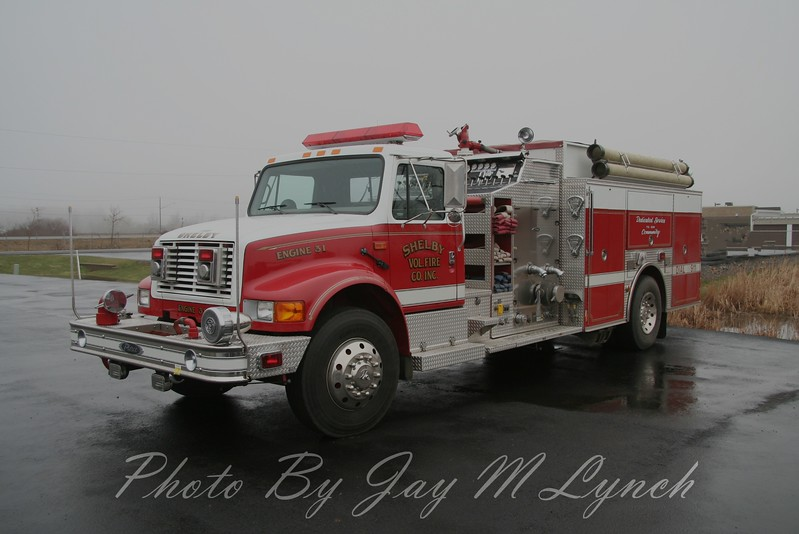 Shelby FD - Engine 31 - ???? International / Pierce - ? / ?