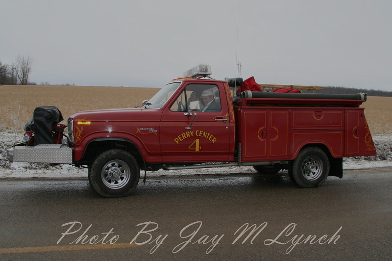 Perry Center FD - Mini Pumper 4 - Destroyed by fire on May 26 2007