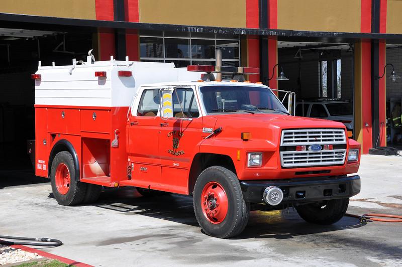 Atlanta Fire Decon Rig