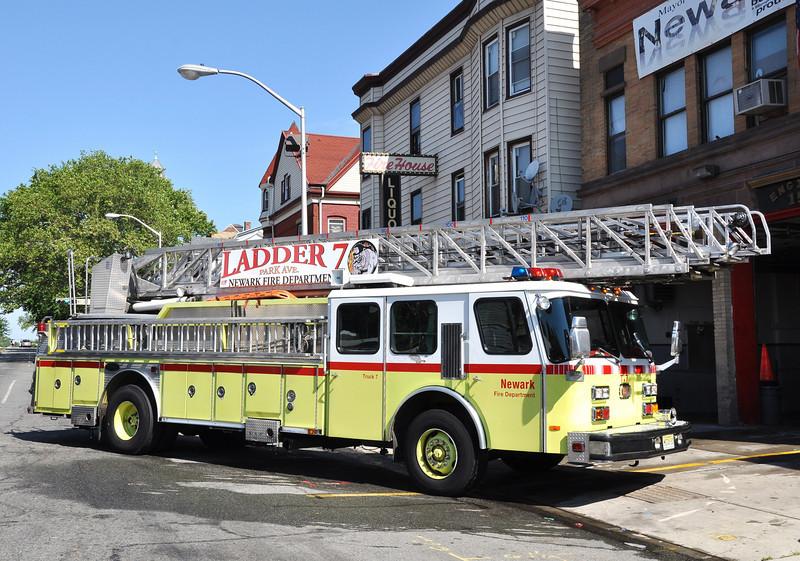 Newark FD Truck 7