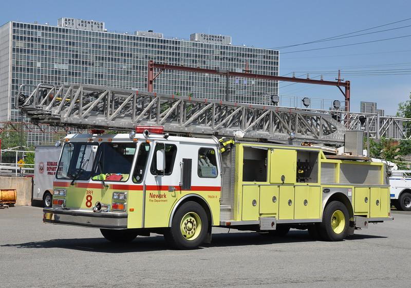 Newark FD Spare Truck (Ex-Truck 8)