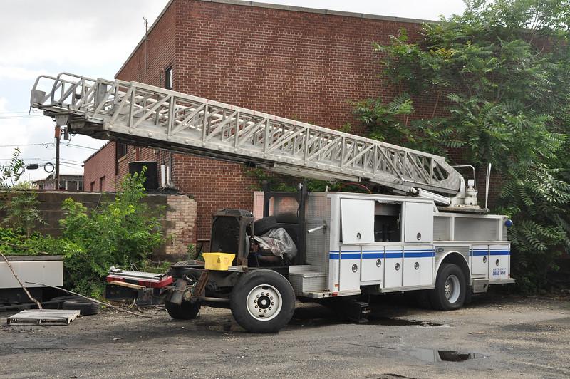 Former Newark FD Truck