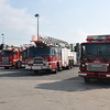 Montreal FD Shop yard