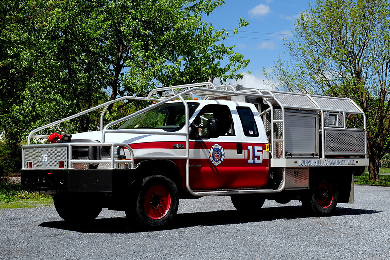 ROUND HILL, VA  BRUSH ATTACK 15  2003 Ford F550 / BRAT  350/ 400/ 15A