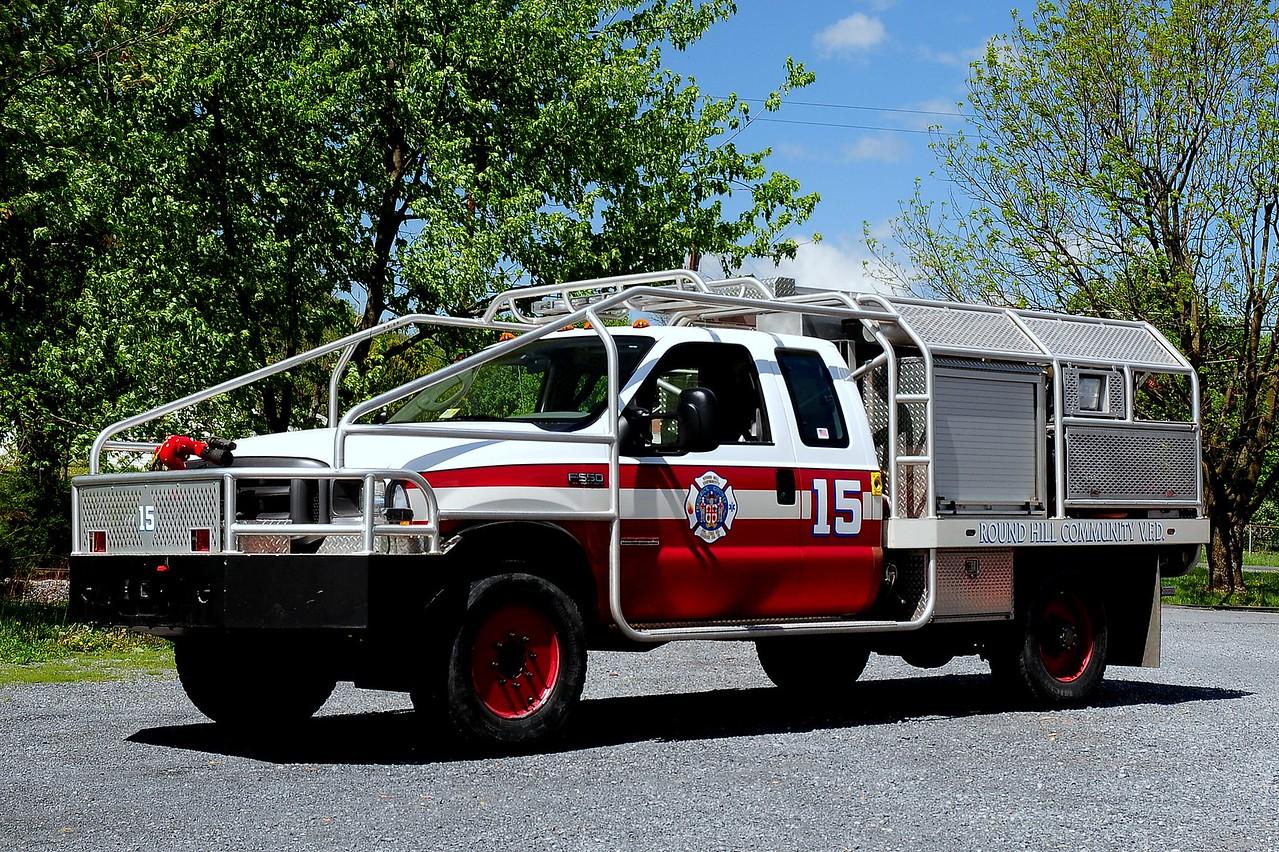 ROUND HILL, VA  BRUSH ATTACK 15  2003 Ford F550 / BRAT  350/ 400/ 15A