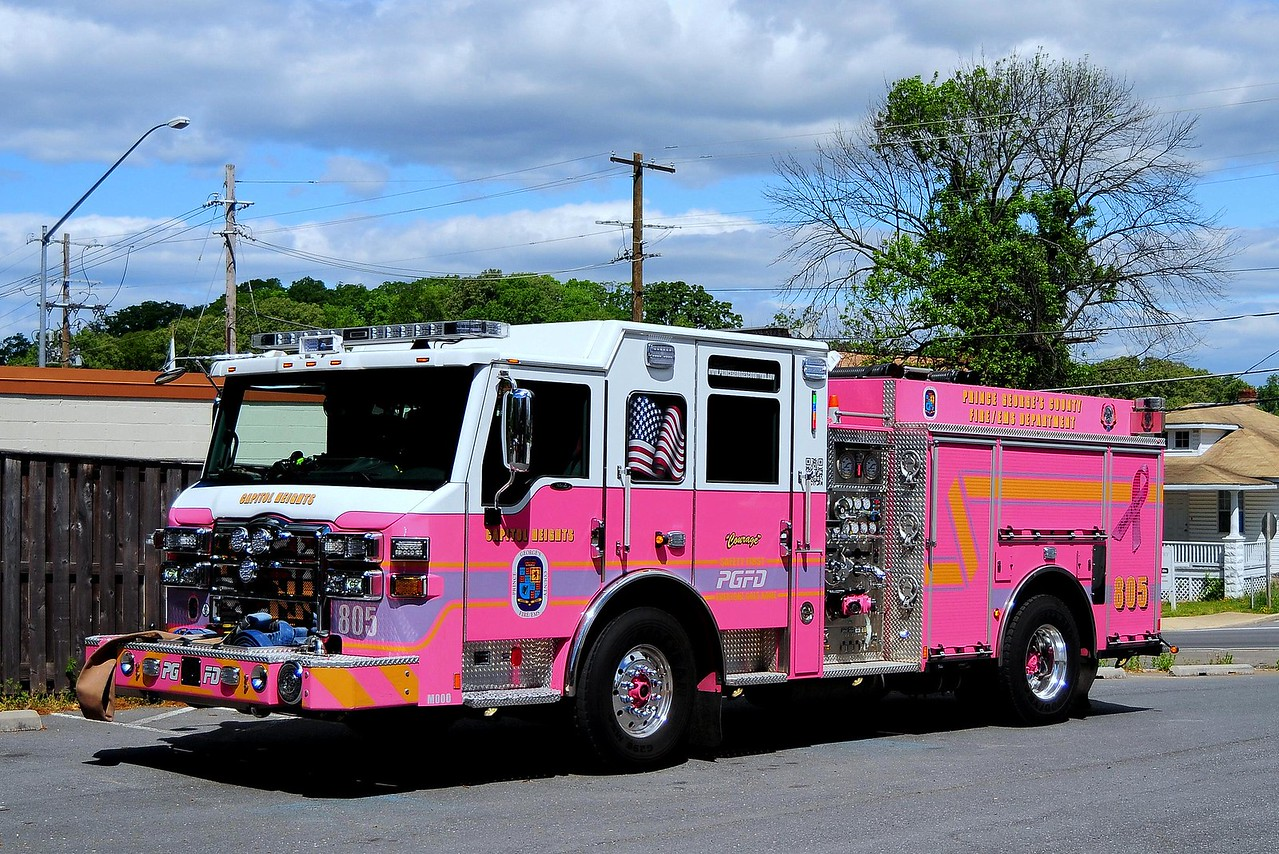 Capitol Heights,  MD  Engine  805  ( COURAGE)