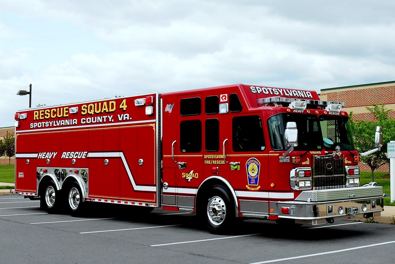 Spotsylvania VFD Co. 4 Four Mile Fork - Spotsylvania County, Virginia Squad 4:1994 Emergency- One Protector  HEAVY RESCUE