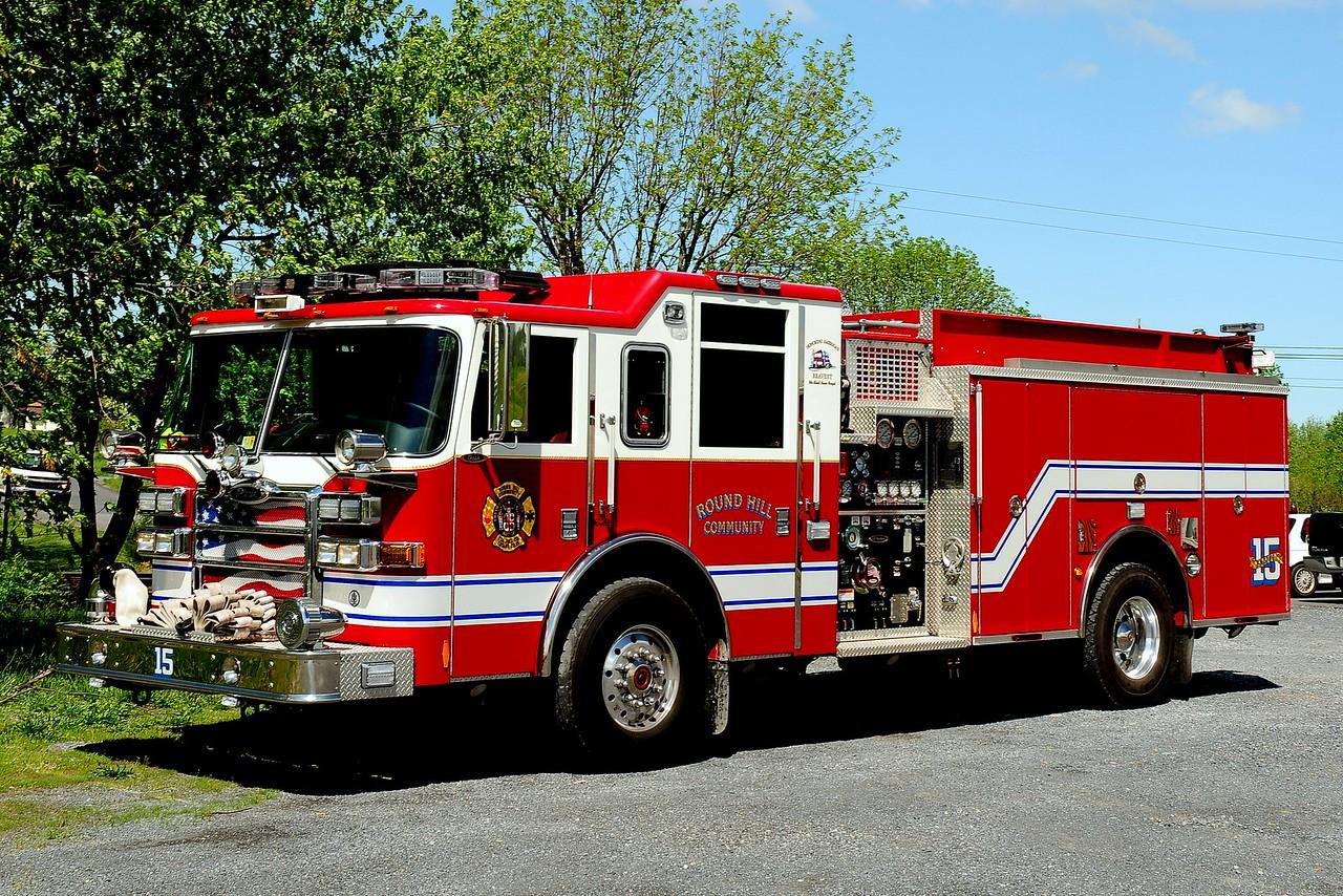 ROUND HILL, VA ENGINE 15   2008 PIERCE DASH 1500/ 1000/ 40A