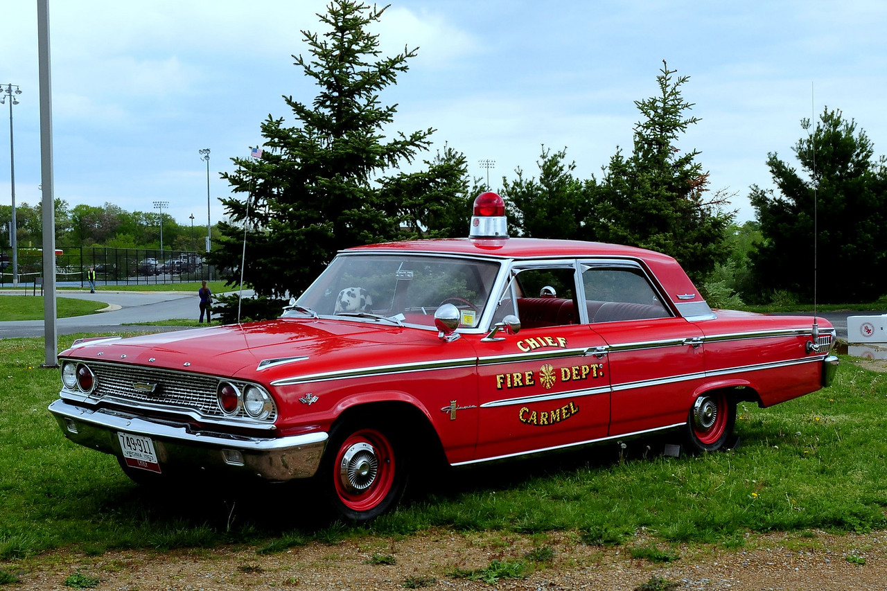 1963 Ford Galaxie 500 Fire Chief's Car<br /> Ex-Carmel VFD (NC) 1963 Ford Galaxie 500 Fire Chief's Car <br /> 289-V8
