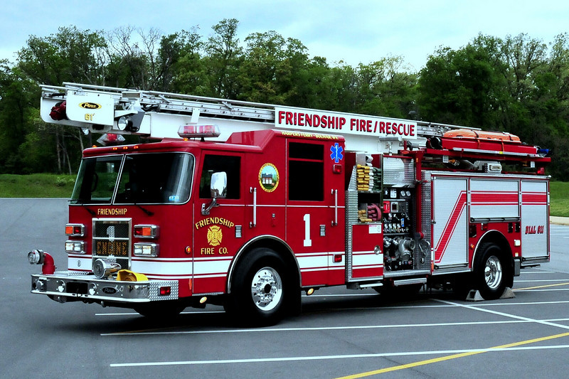 Friendship Fire  Rescue    Harpers Ferry- Bolivar Wv  2002  Pierce Dash