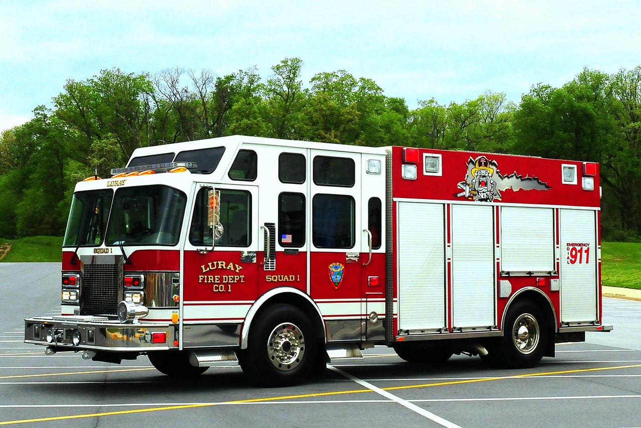 LURAY, VA SQUAD 1    1997 SPARTAN/RD MURRAY EX-CARLE PLACE, NY
