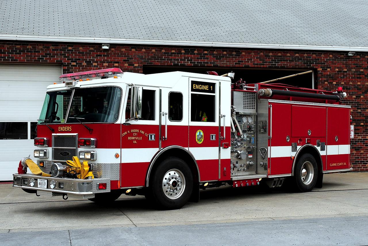BERRYVILLE, VA ENGINE 1   2000 PIERCE DASH 1250/ 750/ 50B