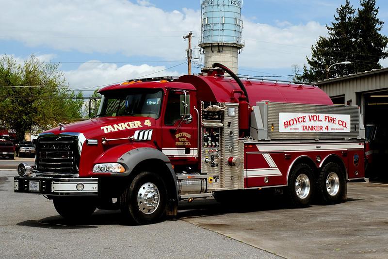 BOYCE, VA TANKER 4   2007 MACK GRANITE/FIROVAC 1000/ 3700