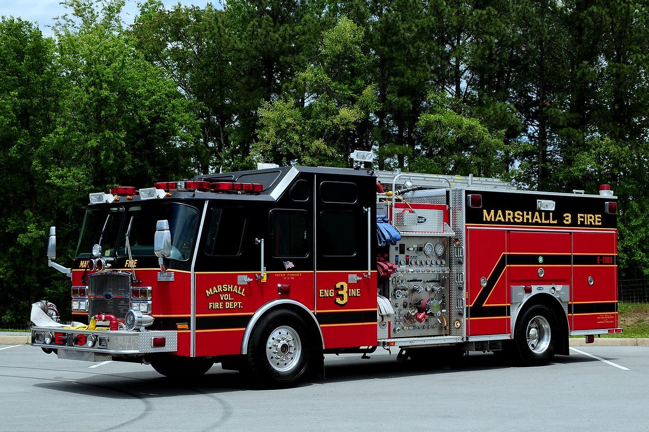 Marshall Fire  Co  Engine  3   2004  Emergency-One   1250/  750