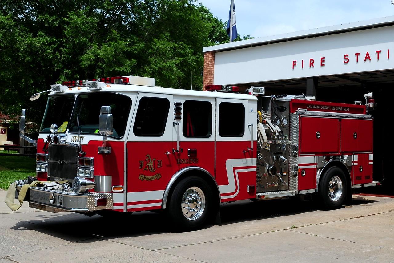 Arlington County   Reserve  Engine   2006  Emergency-One  1250/ 750/ 30  Foam