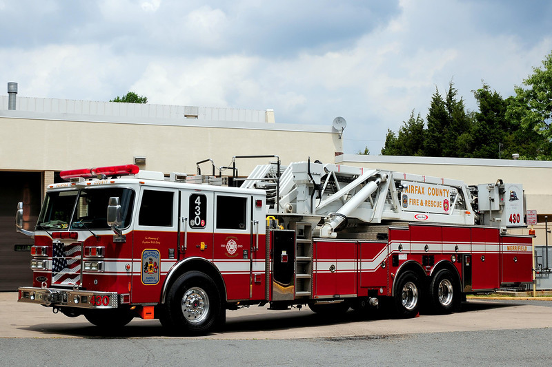 Fairfax County  Merifield   Tower  430  2004 Pierce Dash  95ft