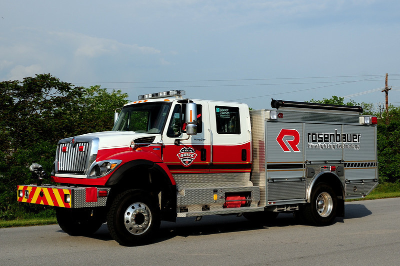 Rosenbauer 2012  DEMO- Unit    Wildland  Interface  Engine  1000/ 750