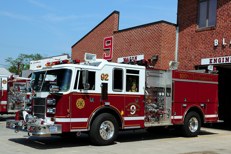 Bladensburg, MD    Engine  92   1994  Pierce  Dash  1250/ 500