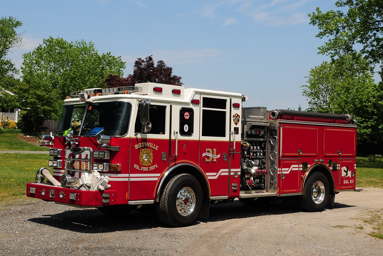 Beltsville, MD   Engine  31   2007  Pierce  Arrow  XT  1500/ 750