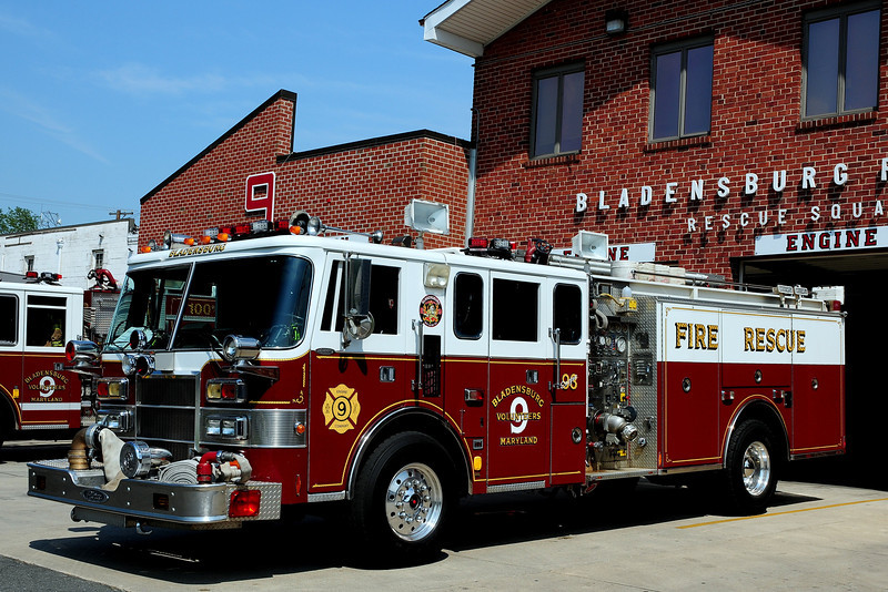 Bladensburg, MD   Engine  93   1992  Pierce  Lance  2000/ 500
