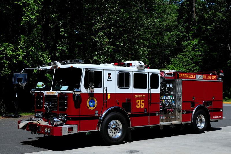 Greedbelt, MD  Engine  35   2009 Seagrave  2000/ 500