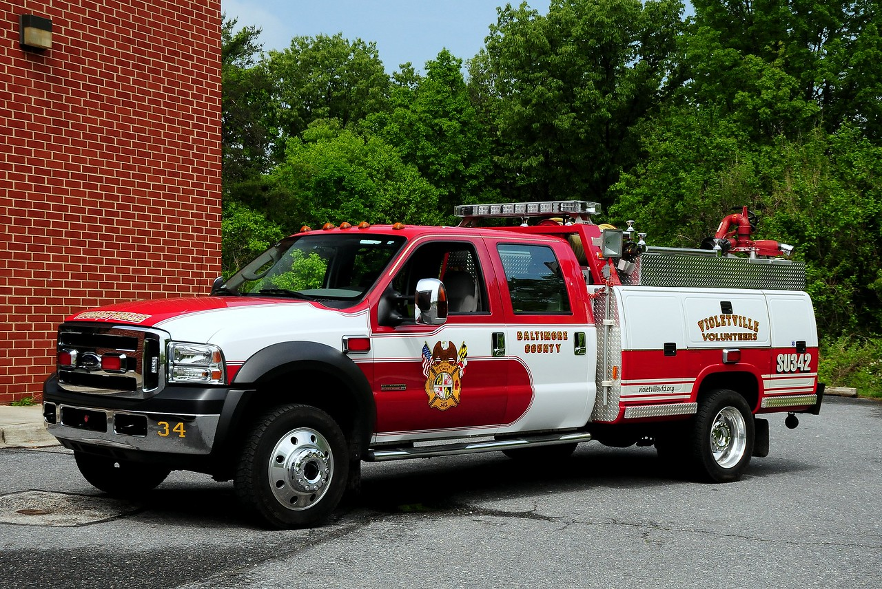 Violetville, MD   Special Unit   342   2007 Ford  F-450  Reading  400/ 225 / 10 foam