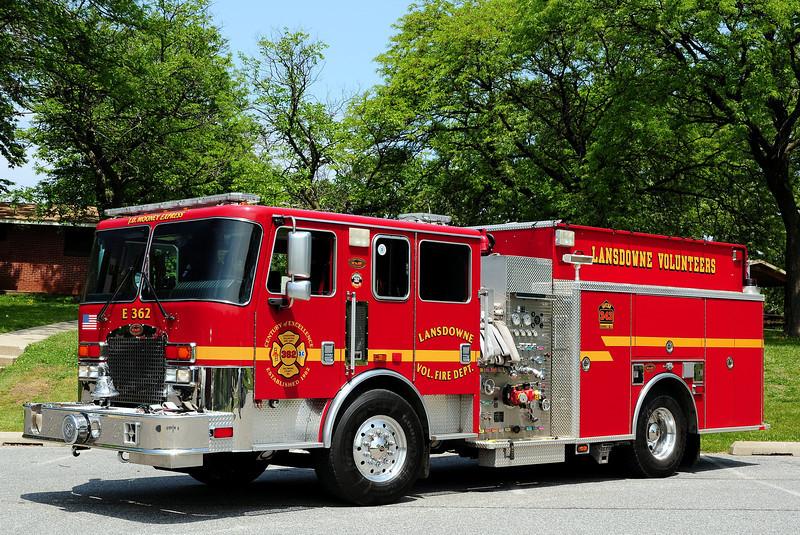 Lansdowne , MD  Engine  2362  2006  KME  1500/ 1000