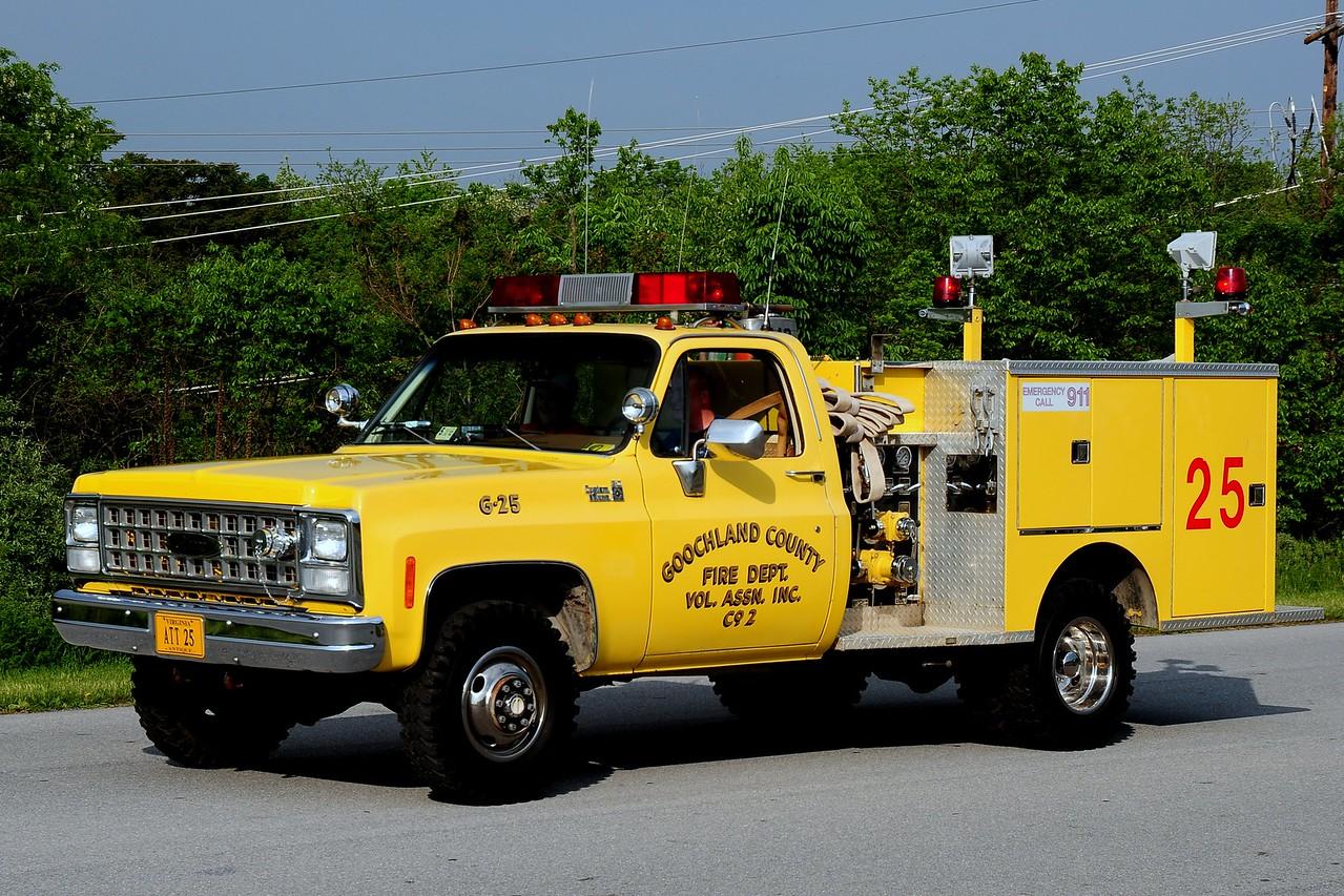 Goochland  County, VA  Fire Dept  Vol Assoc  Co #2 of  Crozier, Va   -Attack  2    Pierce   450/ 200