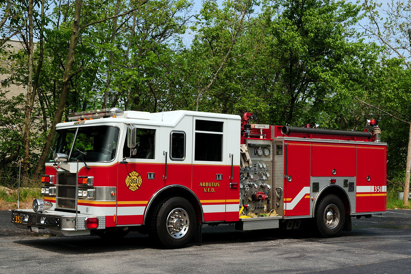Arbutus, MD   Engine  351   1999 Pierce  Dash  1250/ 750