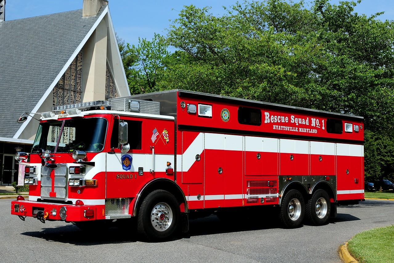 Hyattsville, MD  Squad  1   2009  Pierce  Arrow  XT